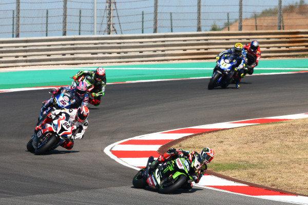 Jonathan Rea, Kawasaki Racing Team, Tom Sykes, BMW Motorrad WorldSBK Team.