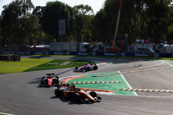 AUTODROMO NAZIONALE MONZA, ITALY - SEPTEMBER 07: Marino Sato (JPN, CAMPOS RACING) during the Monza at Autodromo Nazionale Monza on September 07, 2019 in Autodromo Nazionale Monza, Italy. (Photo by Joe Portlock / LAT Images / FIA F2 Championship)