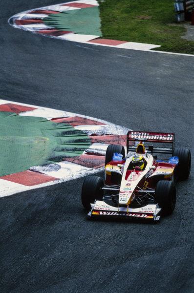 Ricardo Zonta, BAR 01 Supertec.