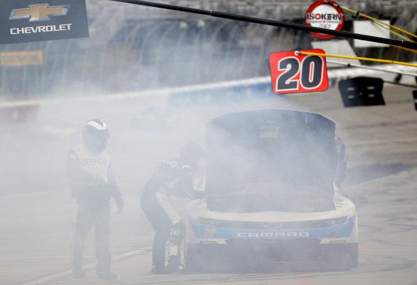 Ryan Sieg, RSS Racing Chevrolet CMRRoofing.com, Copyright: Chris Graythen/Getty Images.