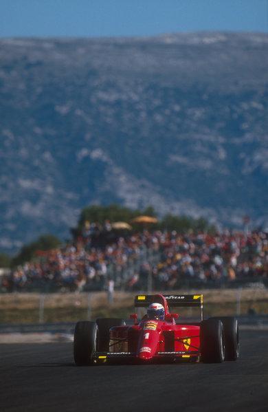 1990 French Grand Prix.Paul Ricard, Le Castellet, France.6-8 July 1990.Alain Prost (Ferrari 641) 1st position.Ref-90 FRA 12.World Copyright - LAT Photographic