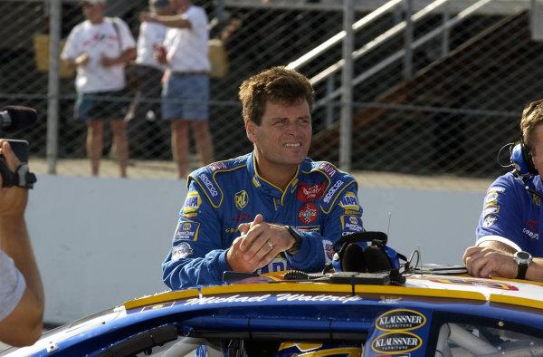 2002 NASCAR,New Hampshire Intl. Speedway,Sept 13-15, 2002 NASCAR, Loudon,NH . USA -Micael Waltrip,Copyright-Robt LeSieur2002LAT Photographic