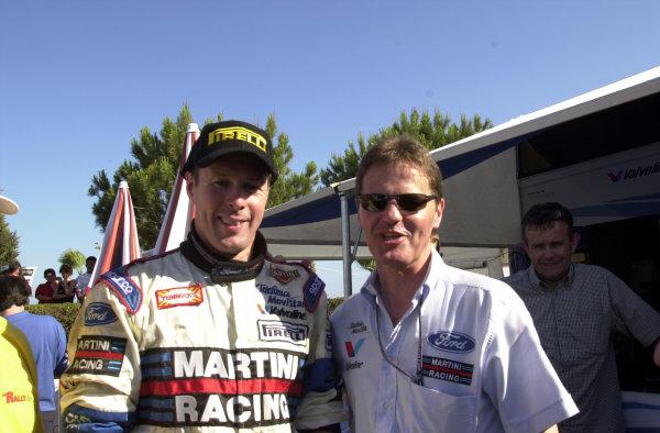 2001 World Rally ChampionshipCyprus Rally June 1-3, 2001Colin McRae and Malcolm WilsonPhoto: Ralph Hardwick/LAT