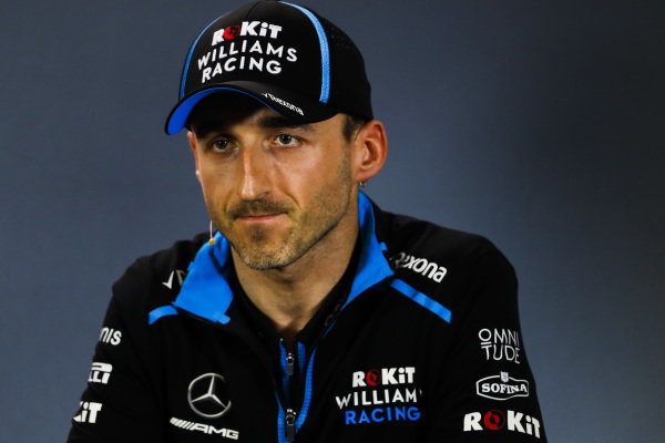 Robert Kubica, Williams Racing in Press Conference