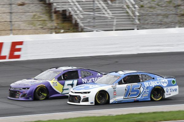 #51: Cody Ware, Petty Ware Racing, Chevrolet Camaro Nurtec ODT, #15: James Davison, Rick Ware Racing, Chevrolet Camaro