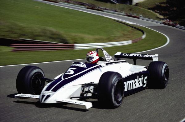 Nelson Piquet, Brabham BT49C Ford.