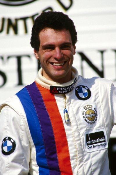 Roland Ratzenberger (AUT) BMW finished third with Markus Oestreich (GER).FIA World Touring Car Championship, Rd 4, ADAC Touren-Wagen Grand Prix, Nurburgring, Germany, 12 July 1987.