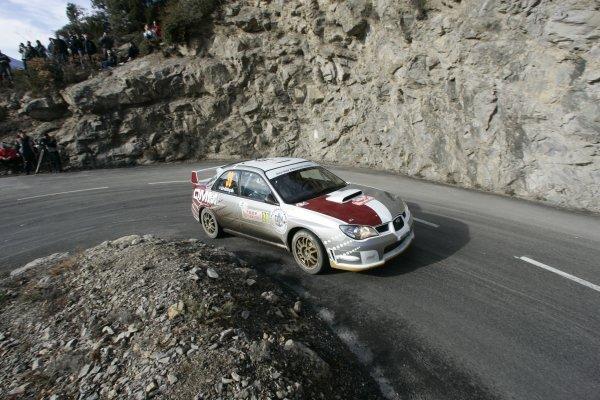 2006 FIA World Rally Champs. Round One, Monte Carlo Rally.19th - 22nd January 2006.Nasser Al Attiyah, Subaru. ActionWorld Copyright: McKlein/LAT