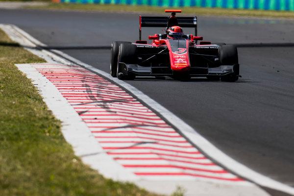 2017 GP3 Series Test 4.  Hungaroring, Budapest, Hungary. Wednesday 7 June 2017. George Russell (GBR, ART Grand Prix)  Photo: Zak Mauger/GP3 Series Media Service. ref: Digital Image _56I2149