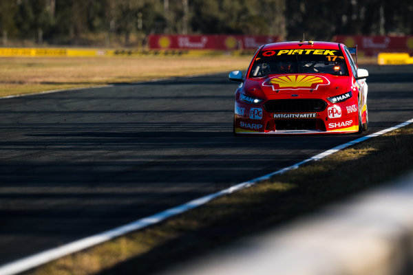 2017 Supercars Championship Round 8.  Ipswich SuperSprint, Queensland Raceway, Queensland, Australia. Friday 28th July to Sunday 30th July 2017. Scott McLaughlin, Team Penske Ford.  World Copyright: Daniel Kalisz/ LAT Images Ref: Digital Image 280717_VASCR8_DKIMG_8236.jpg