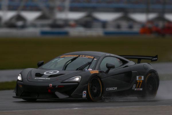 5-8 January, 2017, Daytona Beach, Florida USA 77, McLaren, McLaren GT4, GS, Nico Rondet, Jeff Westphal, Bob Doyle ?2017, Jake Galstad LAT Photo USA