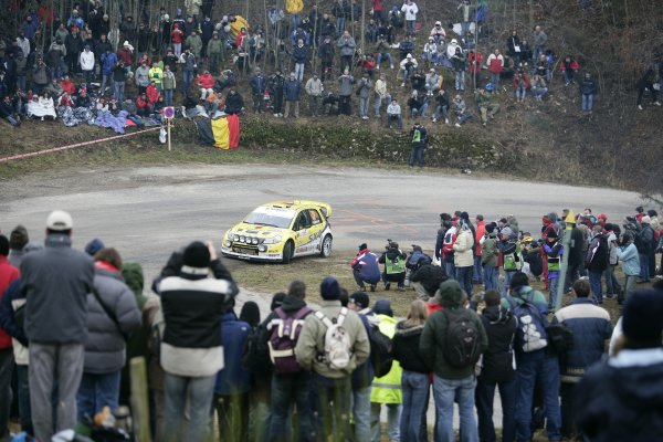 2008 FIA World Rally ChampionshipRound 1Monte Carlo Rally24th - 27th January 2008Per-Gunnar Andersson, Suzuki, actionWorldwide Copyright: McKlein/LAT