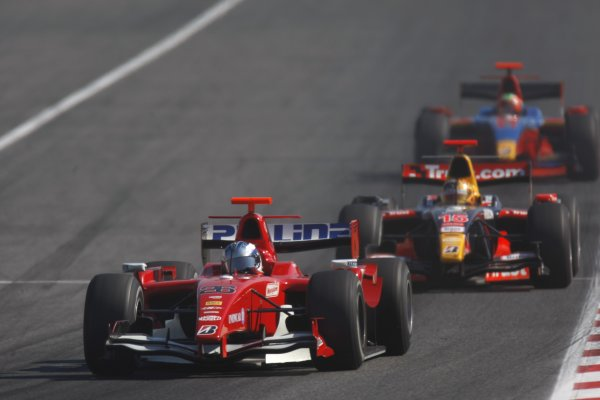 2008 GP2 Series. Round 1. Sunday Race.Barcelona, Spain. 27th April 2008Paolo Nocera (ITA, BCN Competicion). Action. World Copyright: Glenn Dunbar/GP2 Series Media Service.ref:__O9T6664 jpg