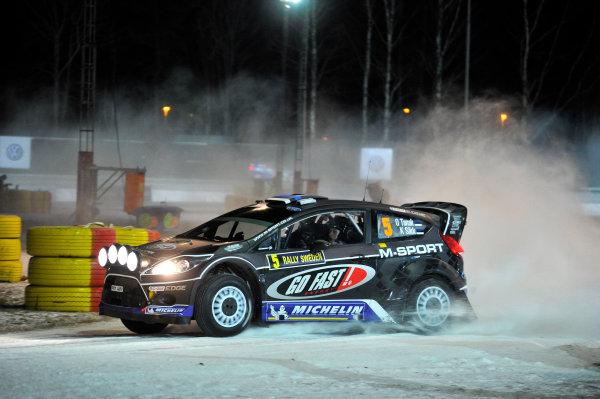 Round 02 - Rally Sweden 09-12 February 2012. Ott Tanak, Ford WRC, Action  Worldwide Copyright: McKlein/LAT