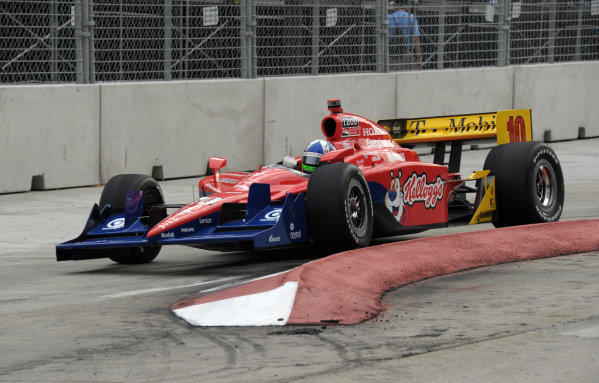2-4 September, 2011, Baltimore, Maryland USA#10 Target Chip Ganassi Racing's Dario Franchitti.(c)2011,  Dan R. Boyd  LAT Photo USA