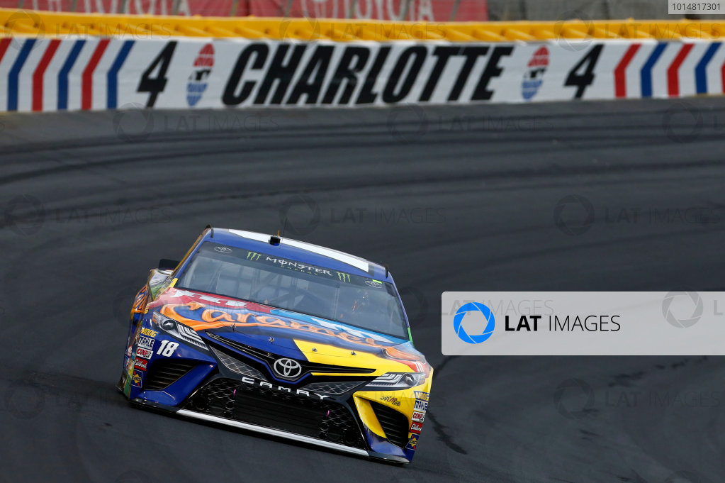 Monster Energy NASCAR Cup Series Monster Energy NASCAR All-Star Race Charlotte Motor Speedway, Concord, NC USA Friday 19 May 2017 Kyle Busch, Joe Gibbs Racing, M&M's Caramel Toyota Camry World Copyright: Matthew T. Thacker LAT Images ref: Digital Image 17CLT1mt1444