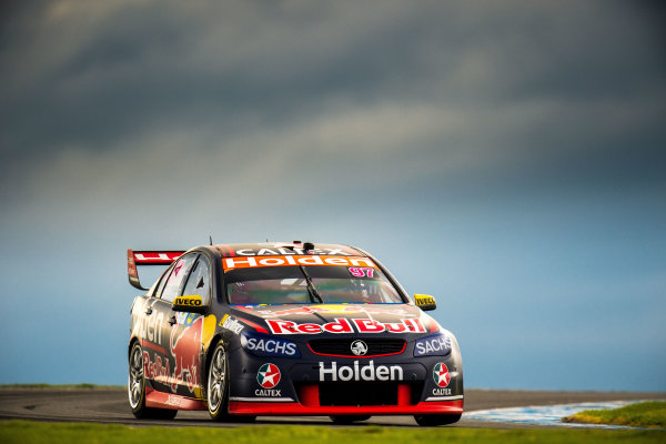 2017 Supercars Championship Round 3.  Phillip Island 500, Phillip Island, Victoria, Australia. Friday 21st April to Sunday 23rd April 2017. Shane Van Gisbergen drives the #97 Red Bull Holden Racing Team Holden Commodore VF. World Copyright: Daniel Kalisz/LAT Images Ref: Digital Image 210417_VASCR3_DKIMG_1722.JPG