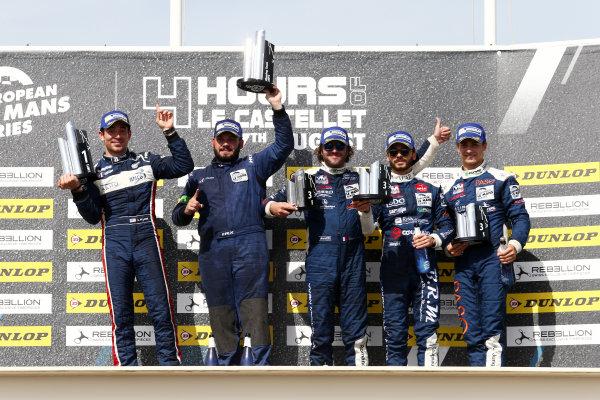 2017 European Le Mans Series, Le Castellet, France. 25th - 27th August 2017. LMP3 Podium World Copyright: JEP/LAT Images