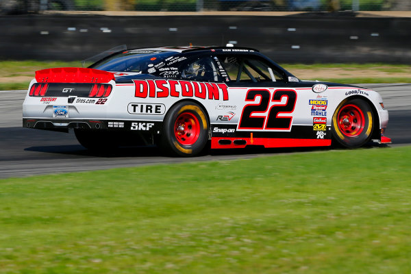 NASCAR XFINITY Series Mid-Ohio Challenge Mid-Ohio Sports Car Course, Lexington, OH USA Saturday 12 August 2017 Sam Hornish Jr, Discount Tire Ford Mustang World Copyright: Russell LaBounty LAT Images