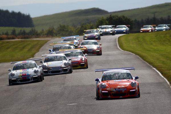 2017 Porsche Carrera Cup, Knockhill, 12th-13th August 2017, Dan Cammish (GBR) Redline Racing Porsche Carrera Cup World copyright. JEP/LAT Images