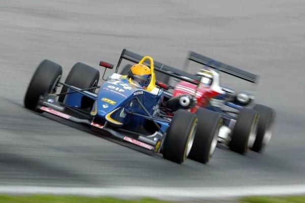 Harold Primat (SUI) Saulnier Racing Dallara Renault. F3 Euro Series, Rd13 & Rd14, A1-Ring, Austria, 6 September 2003.DIGITAL IMAGE