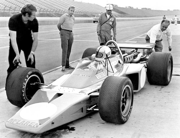 1970s Indycar testing.
