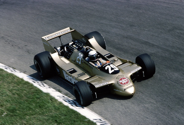1979 Italian Grand Prix.Monza, Italy.7-9 September 1979.Riccardo Patrese (Arrows A2 Ford) 13th position.Ref-79 ITA 21.World Copyright - LAT Photographic