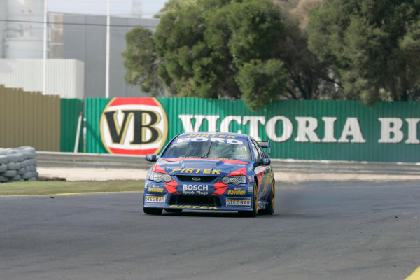 2004 Australian V8 SupercarsSandown, Australia. 12th September 2004V8 Supercar drivers Marcos Ambrose and Greg Ritter during the Betta Electrical 500 being held this weekend at Sandown International Raceway Melbourne, Australia.World Copyright: Mark Horsburgh/LAT Photographicref: DIgital Image Only