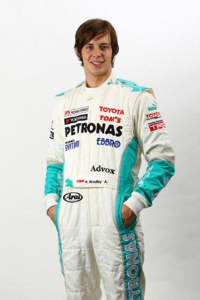 2011 Japanese Formula Three ChampionshipRound 1 & 2 - Suzuka, Japan.14th - 15th May 2011.Richard Bradley ( #36 PETRONAS TEAM TOM'S ), portrait. World Copyright: Yasushi Ishihara/LAT Photographicref: Digital Image 2011JF3_R1_010