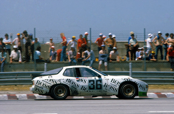 Le Mans, France. 13th - 14th June 1981.Manfred Schurti/Andy Rouse (Porsche 924 Carrera GTR), 11th position, action. World Copyright: LAT Photographic.Ref:  81LM04.