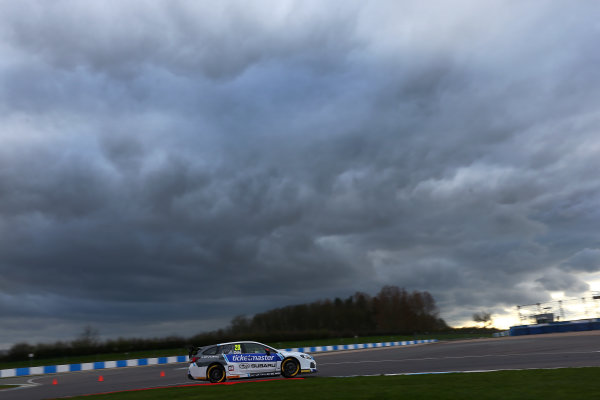 2017 British Touring Car Championship, Donington Park, England. 16th March 2017, James Cole (GBR) Team BMR Subaru Levorg World copyright. JEP/LAT Images