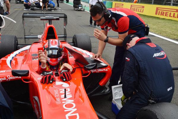 Kevin Ceccon (ITA) Arden GP3 Motorsport at GP3 Series, Rd4, Hungaroring, Hungary, 24-26 July 2015.