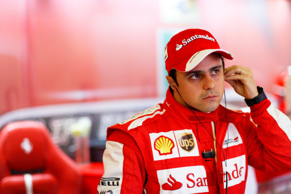 Albert Park, Melbourne, Australia Saturday 16th March 2013 Felipe Massa, Ferrari.  World Copyright: Lorenzo Bellanca/  ref: Digital Image _00P1954