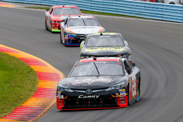 NASCAR XFINITY Series Zippo 200 at The Glen Watkins Glen International, Watkins Glen, NY USA Saturday 5 August 2017 Dakoda Armstrong, JGL Racing Toyota Camry and Ryan Sieg, Midstate Basement Authorities Chevrolet Camaro World Copyright: Russell LaBounty LAT Images