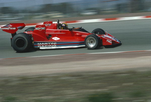 1976 Spanish GP. Round 4Carlos Pace, Brabham BT45 Alfa Romeo - 6th placeJarama, Spain. 30th April - 2nd May 1976.World Copyright - LAT Photographicref: 76 ESP 26