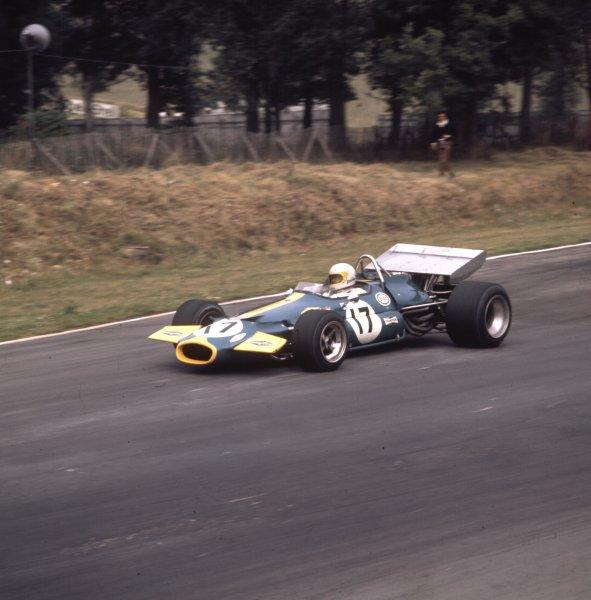 1970 British Grand Prix.Brands Hatch, England.16-18 July 1970.Jack Brabham (Brabham BT33 Ford) 2nd position.Ref-3/4109O.World Copyright - LAT Photographic