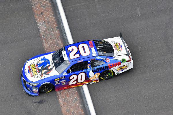 #20: Christopher Bell, Joe Gibbs Racing, Toyota Camry GameStop Team Sonic Racing