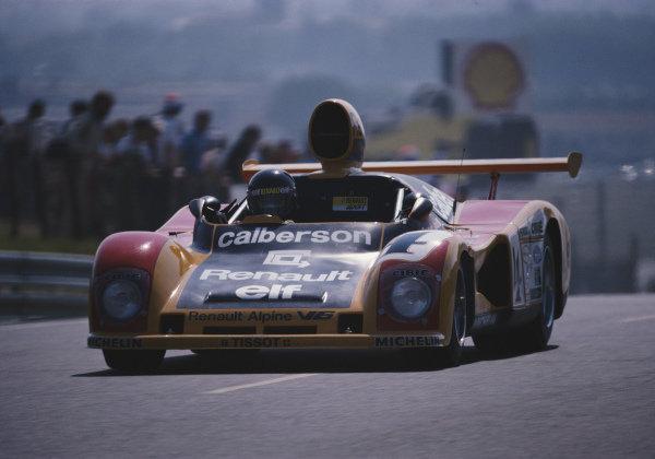Jean Ragnotti / Guy Fréquelin / José Dolhem / Jean-Pierre Jabouille, Equipe Renault Elf Sport Calberson, Renault Alpine A442A.