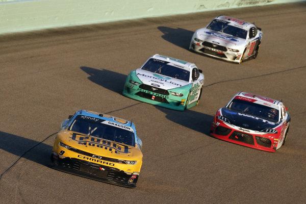 #9: Noah Gragson, JR Motorsports, Chevrolet Camaro PUBG MOBILE and #20: Christopher Bell, Joe Gibbs Racing, Toyota Supra Rheem-Watts