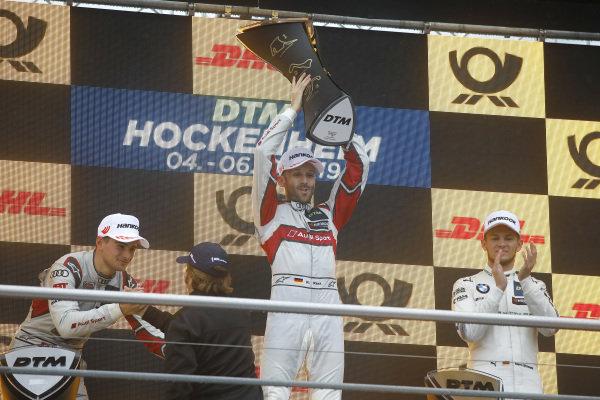Champion ship Podium: Champion René Rast, Audi Sport Team Rosberg.