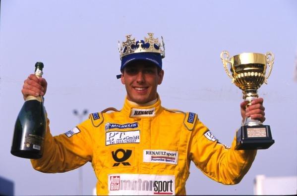 Marcel Lasee (GER) 2001 Championship Winner.German Formula Renault Championship, 14 October 2001, Oschersleben, Germany.BEST IMAGE