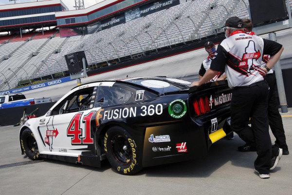 #41: Cole Custer, Stewart-Haas Racing, Ford Mustang HaasTooling.com/Autodesk
