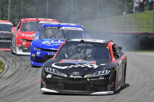 #26: Kris Wright, Sam Hunt Racing, Toyota Supra Americas Auto Auction