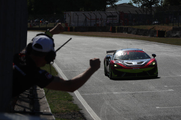 Graham Johnson / Mike Robinson Balfe Motorsport McLaren 570S GT4