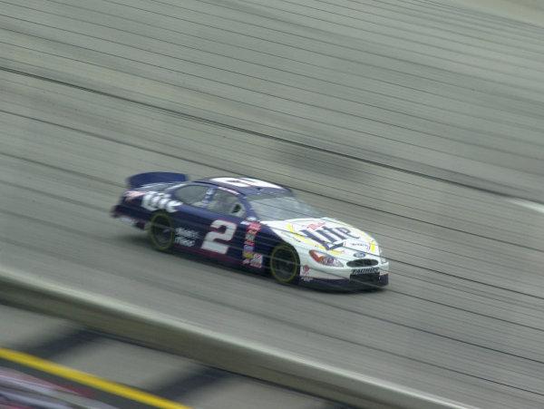 NASCAR DIRECTV 500, 2-4-2000, Ft. Worth, Texas, USA.COPYRIGHT 2000, Phillip Abbott.Rusty Wallace led several laps before finishing fourth.LAT PHOTOGRAPHIC