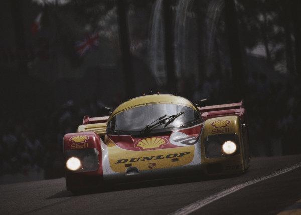 Bob Wollek / Vern Schuppan / Sarel van der Merwe, Porsche AG, Porsche 962 C.