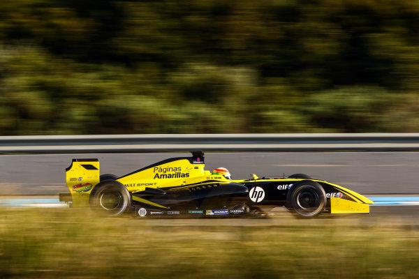 JEREZ (ESP) MRT 4-6 2015 - First collective test of the World Series by Renault 2015 at Circuito Permanente de Jerez. Roberto Mehri #40 Pons Racing. Action. © 2015 Diederik van der Laan  / Dutch Photo Agency / LAT Photographic