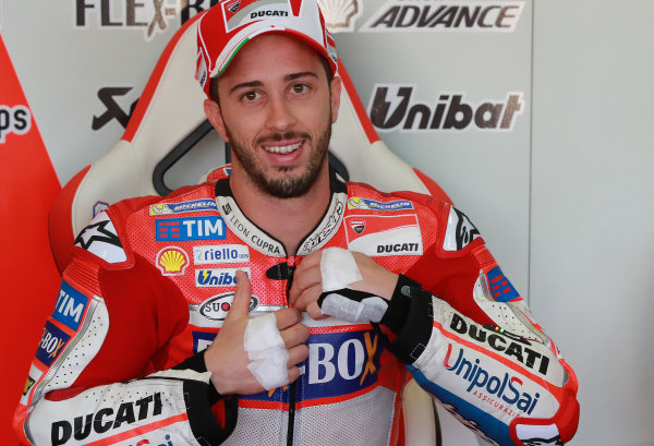 2017 MotoGP Championship - Round 18 Valencia, Spain  Friday 10 November 2017 Andrea Dovizioso, Ducati Team  World Copyright: Gold and Goose Photography/LAT Images  ref: Digital Image 705252