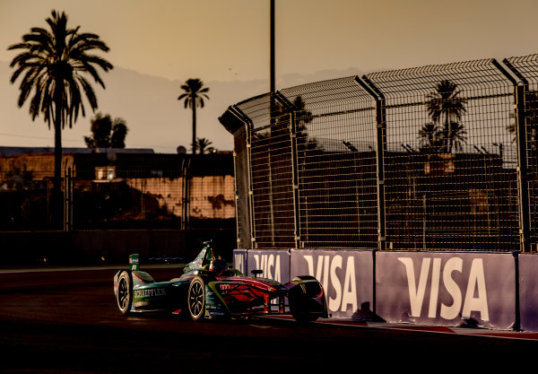 2016/2017 FIA Formula E Championship. Marrakesh ePrix, Circuit International Automobile Moulay El Hassan, Marrakesh, Morocco. Saturday 12 November 2016. Daniel Abt (GER), ABT Schaeffler Audi Sport, Spark-Abt Sportsline, ABT Schaeffler FE02.  Photo: Zak Mauger/LAT/Formula E ref: Digital Image _X0W5345