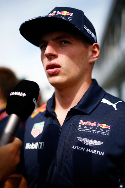 Silverstone, Northamptonshire, UK.  Thursday 13 July 2017. Max Verstappen, Red Bull Racing.  World Copyright: Andy Hone/LAT Images  ref: Digital Image _ONZ2912